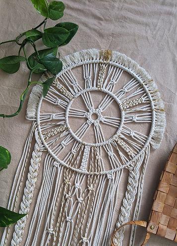 décoration macramé jura