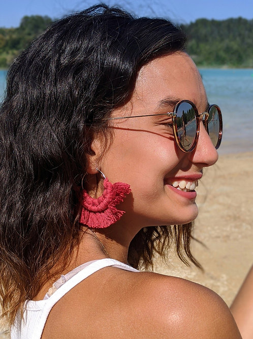 Boucles d'oreilles MAËVA
