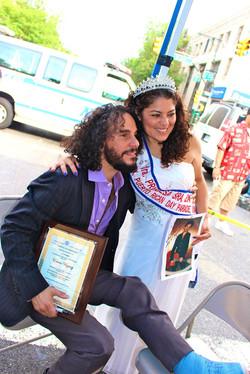 Edwin Vazquez with Luna Luz