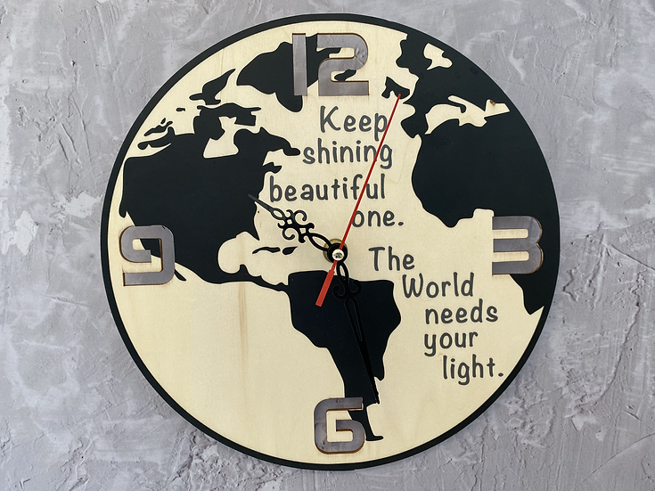 שעון לחדר ילדים