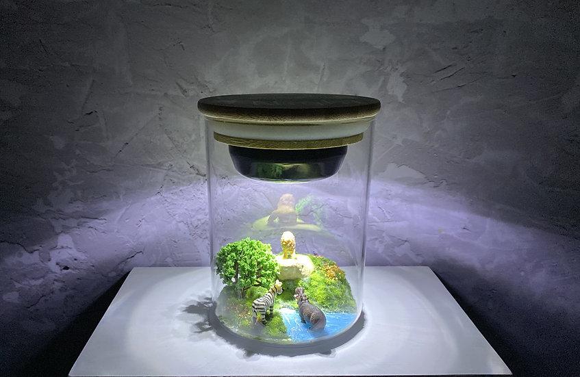 מנורת לילה - סוואנה
