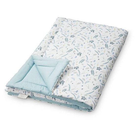 שמיכה - פרחוני כחול