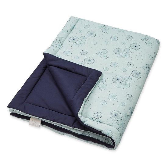 שמיכה - דגם כחול