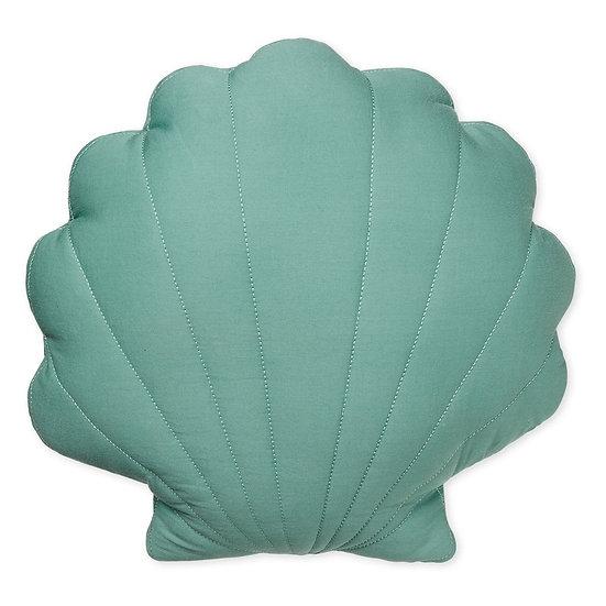 כרית צדפה - ירוק