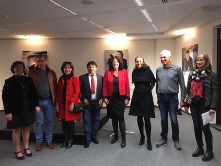 Amt für Multikulturelle Angelegenheiten Farben International bei der Jubiläumsfeier