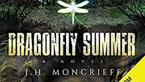 Dragonfly Summer by J.H Moncrieff