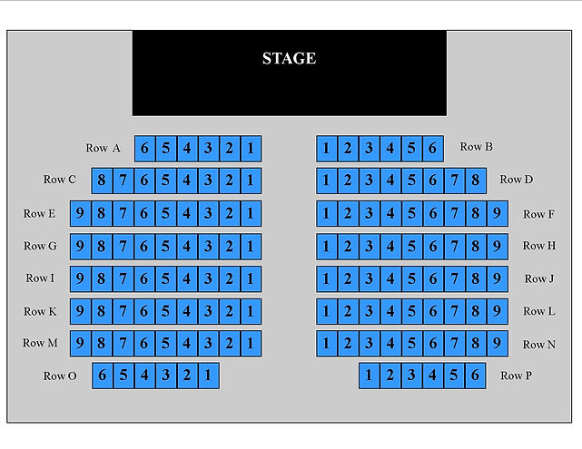 All An Act Theatre Seating Chart