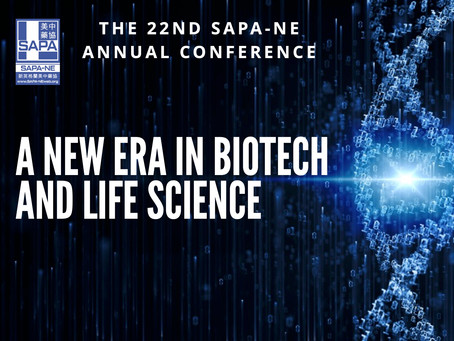 [Report] 2021-01-23 SAPA-NE 22nd Annual Conference: A New Era in Biotech and Life Science