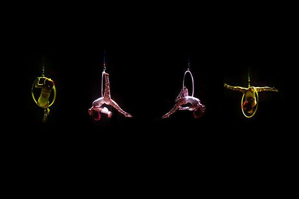 Four Acrobats