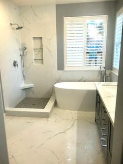Master bathroom remodel - Napa
