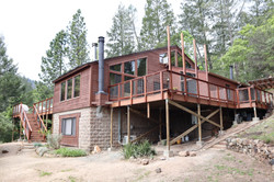 New deck construction - Calistoga
