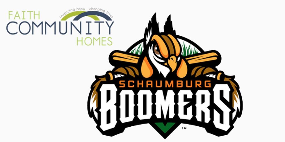 Schaumburg Boomers Game Benefiting Faith Community Homes