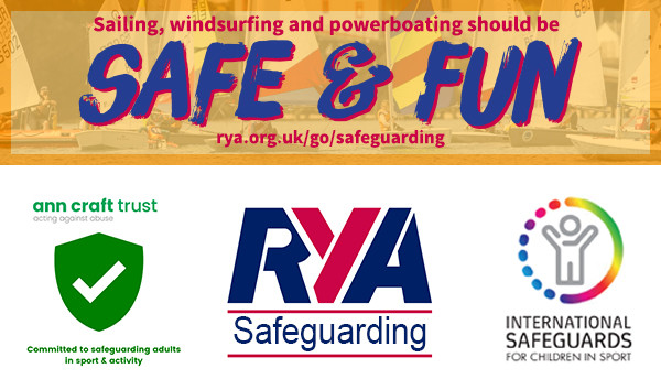 RYA safe and fun banner ann craft trust international safeguards