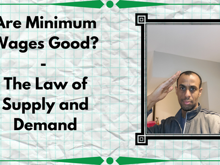 Are Minimum Wages Good? | The Law of Supply and Demand
