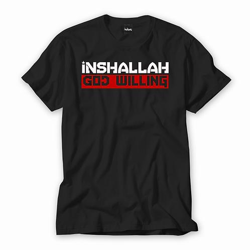 Inshallah God Willing Tee