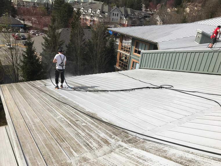Belcarra Roof - Before/After