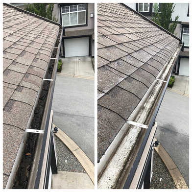 Gutters - Before/After