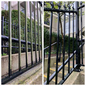 Railings - Before/After