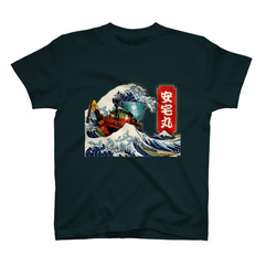 Wave Design T-shirt