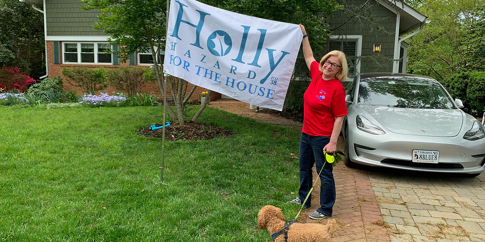 Canvass for Holly - Memorial Day!