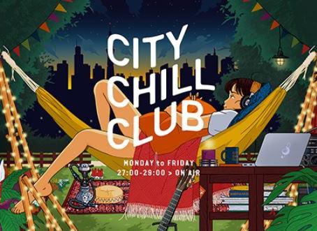 【ラジオ出演情報📻】Vo.原田がTBSラジオ「CITY CHILL CLUB」6月ミュージックセレクターに決定!!