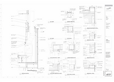 Residential architecture design drawings