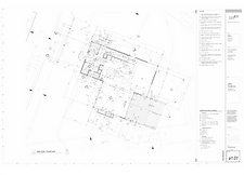 Residential architecture drawings