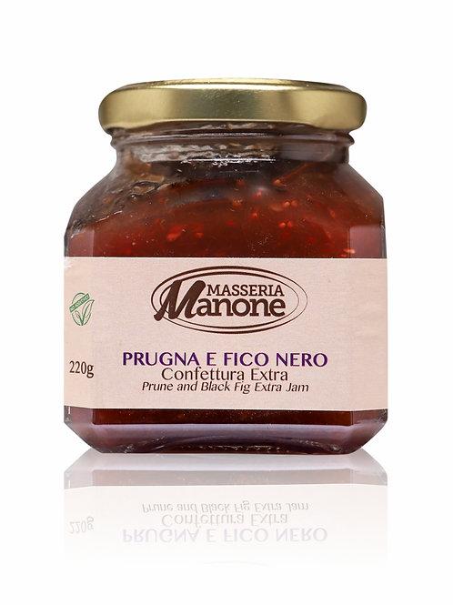 Confettura extra di Prugna e Fico Nero 220g