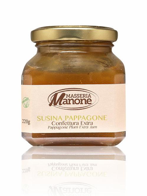 Confettura extra di Susina Pappagone 220g