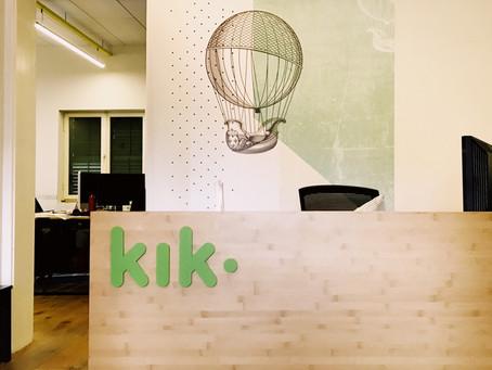 Messaging App Kik Raises $50M as it Readies its ICO