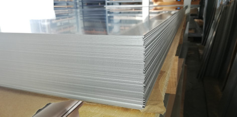 Formatki blachy aluminiowej