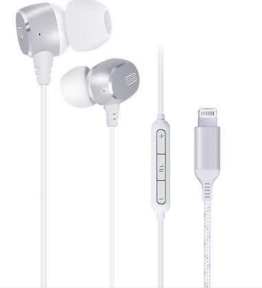 Certified Lightning Earphones With Built In Mic