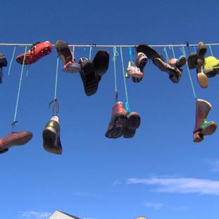 bemalte Schuhe (Kinderprogramm 2007)
