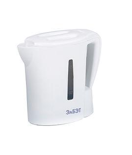 Белый Пластиковый Чайник 0.5л