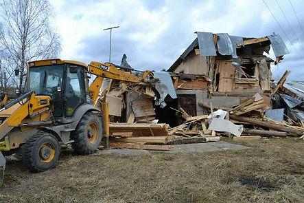 демонтаж строений дервянных кирпичных в Ярославле | демонтаж дачных домиков и их утилизация