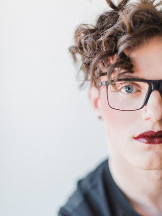 Corynn Fowler Photography. The Parlour by Stephanie for Hair. Glasses -BLINK, Collingwood