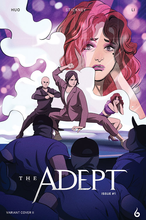 The Adept #1 Comic Book Variant Cover I (Print)