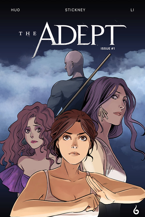 The Adept #1 - Standard Cover - Digital
