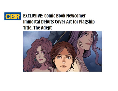 Article: Immortal Debuts Cover Art for Flagship Title