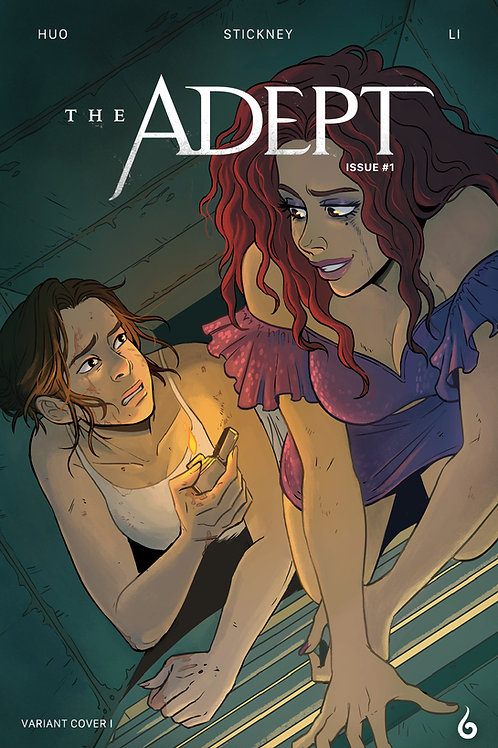 The Adept #1 Comic Book Variant Cover II (Print)