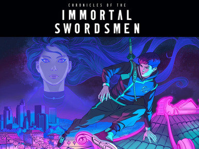 Kickstarter Pre-Launch Starts for Immortal's 2nd Comic - Chronicles of the Immortal Swordsmen