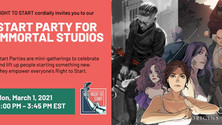 RIGHT TO START Hosts Start Party for Immortal Studios