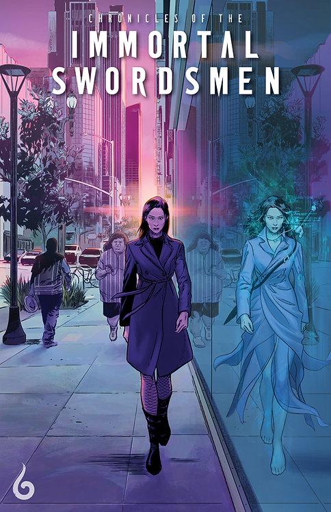 Chronicles of the Immortal Swordsmen #1 - PRINT: Javier Fernandez variant cover
