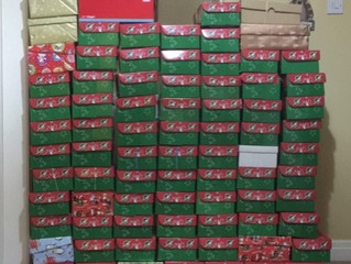 Operation Christmas Child Shoebox Appeal 2019 - Update