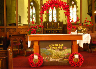 Remembrance Day Services 2018