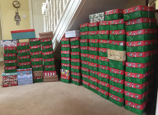 Operation Christmas Child, 2018 Shoe Box appeal