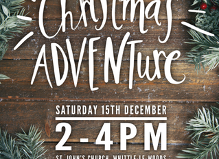 Don't miss our Christmas ADVENTure, and experience the real nativity story !