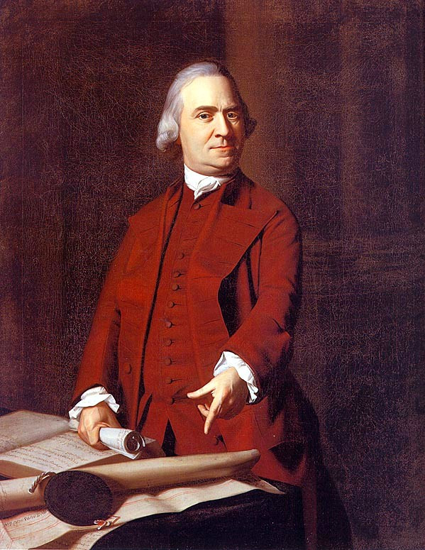 Samuel Adams, about 1772