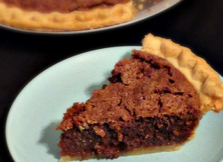 Alligator . . . er, Chocolate Buttermilk Pie