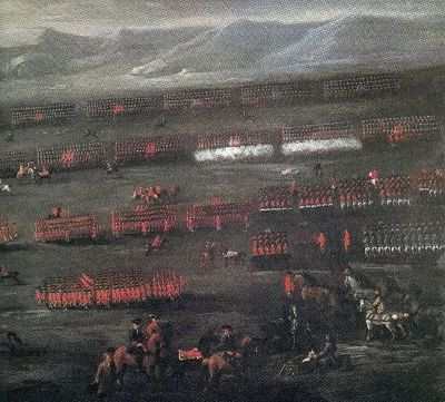 Battle of Sheriffmuir. My Dugal McQueen was here.